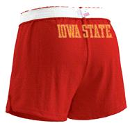 Iowa State Cyclones Women's Red Authentic Soffe Shorts
