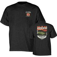 Auburn Tigers Football Exceptional History Dark Heather T-Shirt