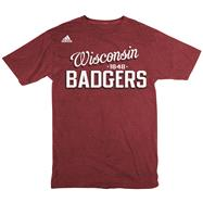 Wisconsin Badgers adidas Pigment Dyed Crunch Time T-Shirt