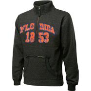Florida Gators Charcoal Collegiate Crush 1/4 Zip Fleece Sweatshirt