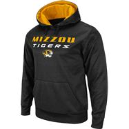 Missouri Tigers Black Bootleg Hooded Sweatshirt