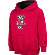 Wisconsin Badgers Kids 4-7 Red Automatic Hooded Sweatshirt