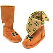Michigan State Spartans Women's Micro Suede Campus Boot II