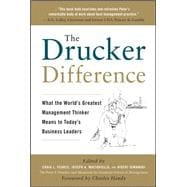The Drucker Difference: What the World's Greatest Management..., 9780071638005  