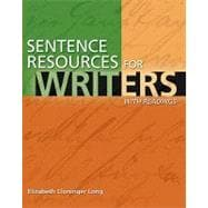 Sentence Resources for Writers, with Readings (with MyWritingLab Student Access Code Card),9780205728008