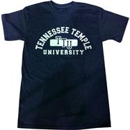 Tennessee Temple University Classic Charcoal Tee