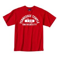 Tennessee Temple University Classic Red Tee