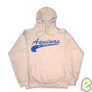 Aquinas College Swoosh Logo Hooded Sweatshirt