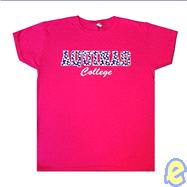 Aquinas College Polka Dots Pink T-Shirt