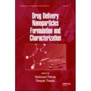 Nanoparticulate Drug Delivery Systems Ii Formulation and Cha..., 9781420078046