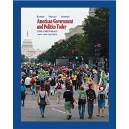 American Government and Politics Today : The Essentials 2008-2009 Edition,9780495098065