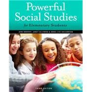 Powerful Social Studies for Elementary Students,9781111838065