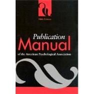 Publication Manual of the American Psychological Association,9781557988102