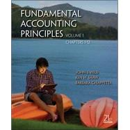 Fund. Accounting Principles Volume 1 (Chapters 1-12)  w/ Connect Plus 2 Sem.  Access Card,9780077808105