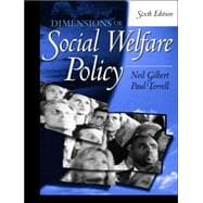 Dimensions Of Social Welfare Policy,9780205408108