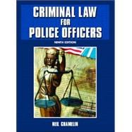 Criminal Law For Police Officers,9780131188129