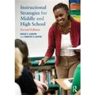 Instructional Strategies for Middle and High School,9780415898133