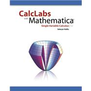 CalcLabs with Mathematica for Single Variable Calculus,9780840058140