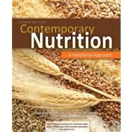 Combo: Contemporary Nutrition: A Functional Approach w/Dietary Guidelines Update Resource