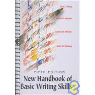 New Handbook of Basic Writing Skills With Infotrac,9780838408162
