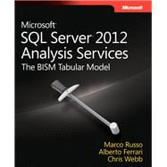 Microsoft SQL Server 2012 Analysis Services - The BISM Tabular Model,9780735658189