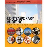 Contemporary Auditing Real Issues & Cases, Update,9781439078198