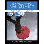 Exploring Management, 3rd Edition,9780470878217