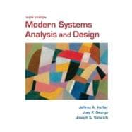 Modern Systems Analysis and Design, 9780136088219  