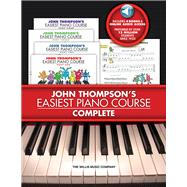 John Thompson's Easiest Piano Course - Complete : 4-Book/4-C..., 9781423468226  