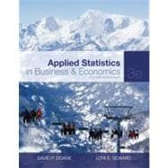 Applied Statistics in Business and Economics with Connect Plus