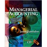 Managerial Accounting, 2nd Edition,9780471238232