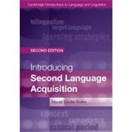 Introducing Second Language Acquisition,9781107648234