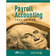 Payroll Accounting 2007 (with Payroll CD and ADP CD),9780324638240