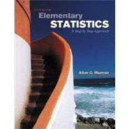 Elementary Statistics: A Step by Step Approach with MathZone