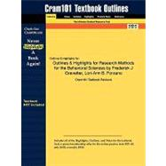 Outlines and Highlights for Research Methods for the Behavioral Sciences by Frederick J Gravetter, Lori-Ann B Forzano, Isbn : 9780495509783,9781616988258