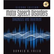 Motor Speech Disorders Diagnosis & Treatment,9781111138271