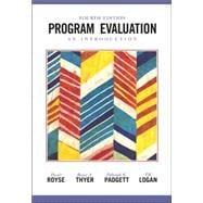 Program Evaluation : An Introduction,9780534508272