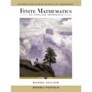 Finite Mathematics: An Applied Approach, Student Solutions Manual, 11th Edition,9780470458280