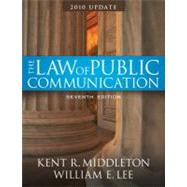 Law of Public Communication-Annual Update 2010,9780205698325
