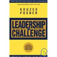 The Leadership Challenge, 3rd Edition,9780787968335
