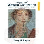 Aspects of Western Civilization Problems and Sources in History, Volume 1,9780205708338
