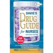 Davis's Drug Guide for Nurses (Book with Access Code),9780803628342
