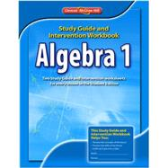 Algebra 1, Study Guide &amp; Intervention Workbook,9780078908354