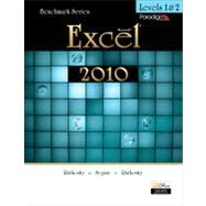 Benchmark Excel 2010 Levels 1&2 with data files CD and SNAP 2010,9780763838362