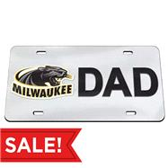 University of Wisconsin - Milwaukee Dad License Plate
