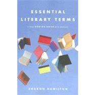 Essential Lit Terms Pa,9780393928372