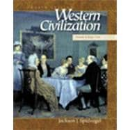 Western Civilization : A Brief History,9780534568375