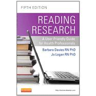 Reading Research: A User-Friendly Guide for Health Professionals (Book with Access Code),9781926648385