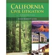 California Civil Litigation, 5th Edition