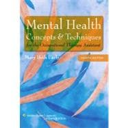 Mental Health Concepts and Techniques for the Occupational Therapy Assistant,9780781778398